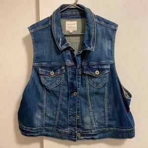 Torrid Plus Size Jean Vest